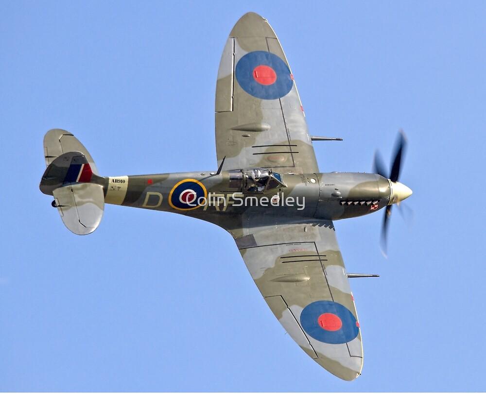 Supermarine Spitfire Vb AB910/RF-D by Colin Smedley