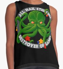 Cthulhu - Destroyer of Games Sleeveless Top