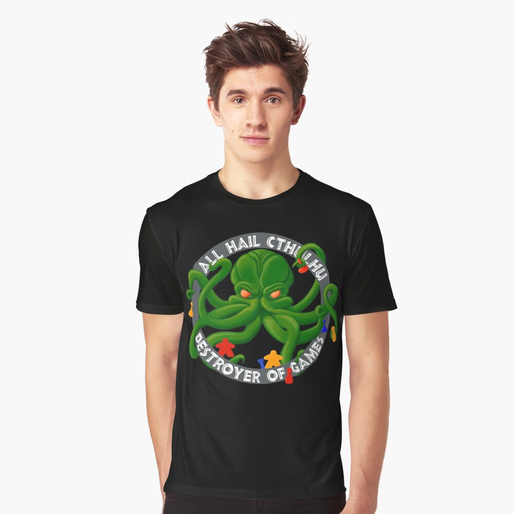 Cthulhu - Destroyer of Games Graphic T-Shirt