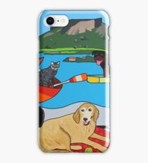 Happy summer camp iPhone Case/Skin