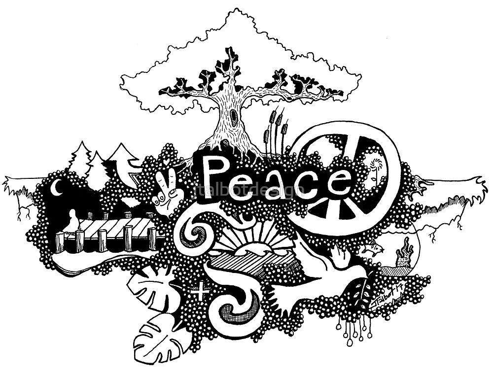 Peace by jtalbotdesign