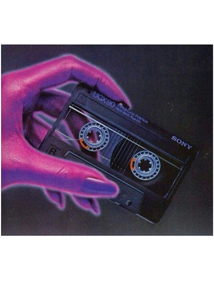 Vaporwave Cassette by AFApparel