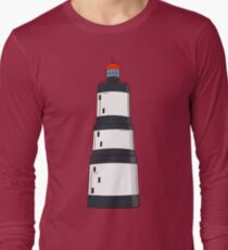 Black and white lighthouse Long Sleeve T-Shirt