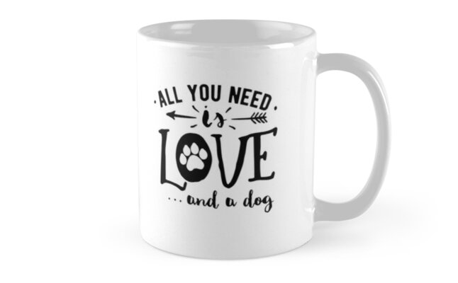 All You Need Is Love & A Dog  by TruBru