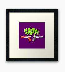 ZAPP!!! [Pixel Art] Framed Print