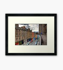 The Terrace Framed Print