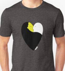 HeartCraft White&Yellow Unisex T-Shirt