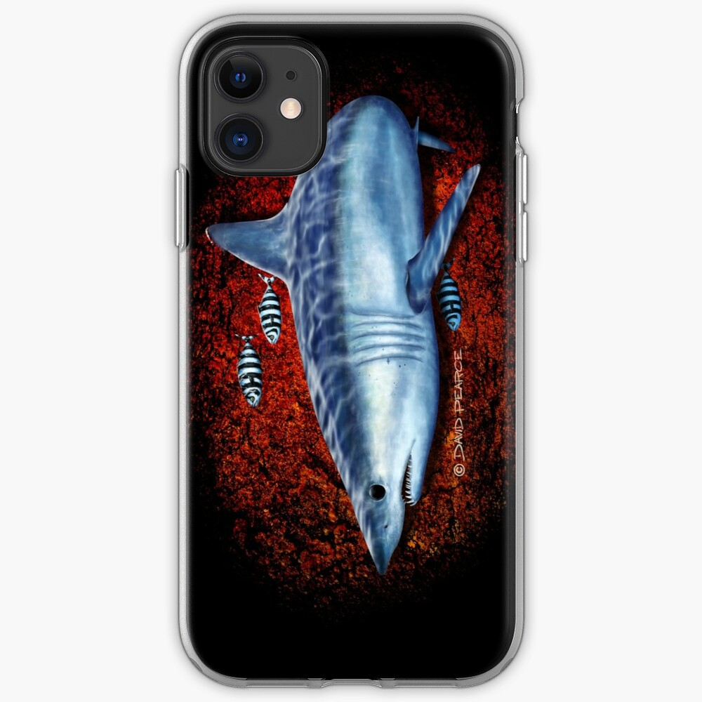 Searching - Mako Shark iPhone Soft Case