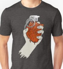 My Heart like a Handgrenade Unisex T-Shirt