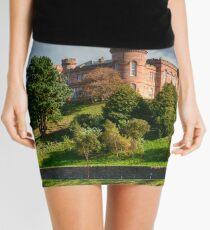 Inverness Castle, Scotland.  Mini Skirt