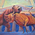 Bear vs Bull by corsetti