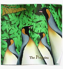 The Penguins - Fur and Rubber Poster