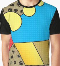 Mondrain the Leopard Graphic T-Shirt