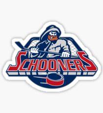 Calgary Schooners  Sticker