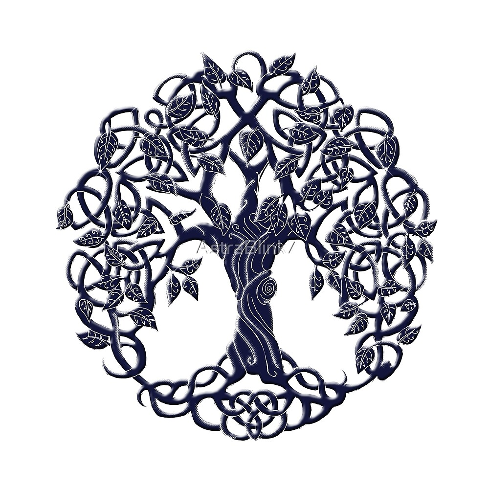 Tree of life blue by AstraBlink7