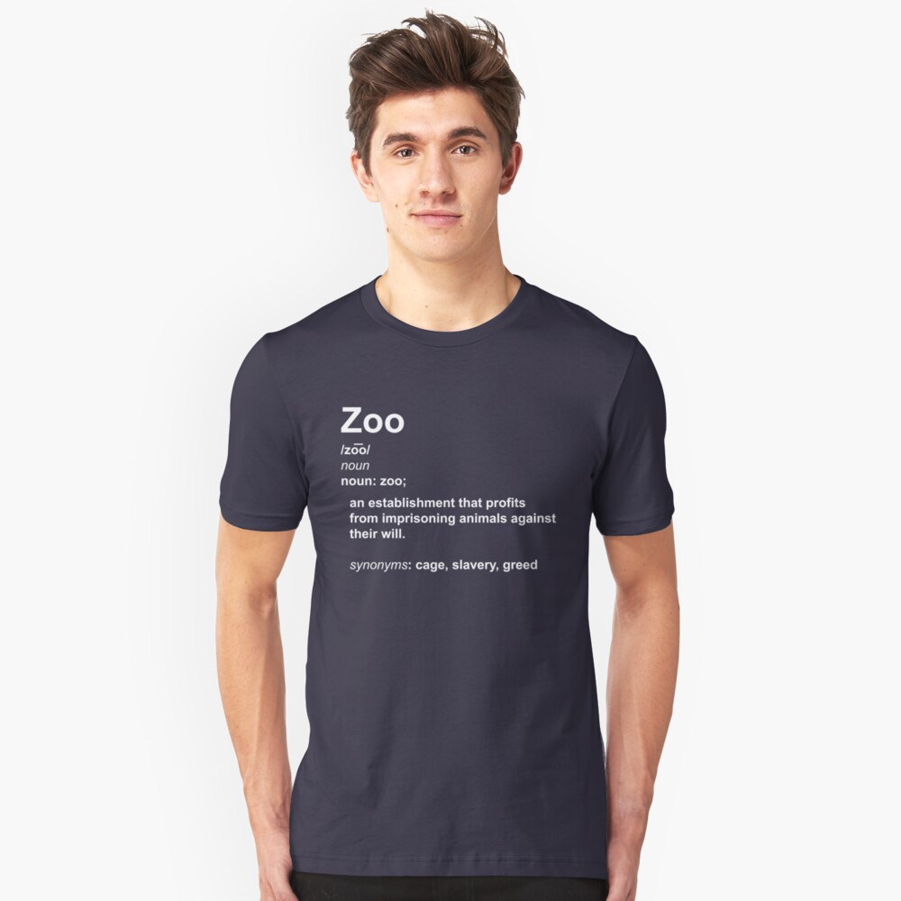 Zoo Definition Slim Fit T-Shirt