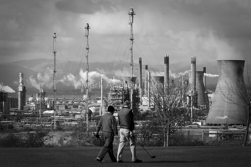 Industrial Golf by Mark Andrew Turner