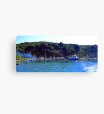 Corfu Coast II Canvas Print