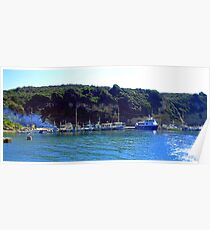 Corfu Coast II Poster