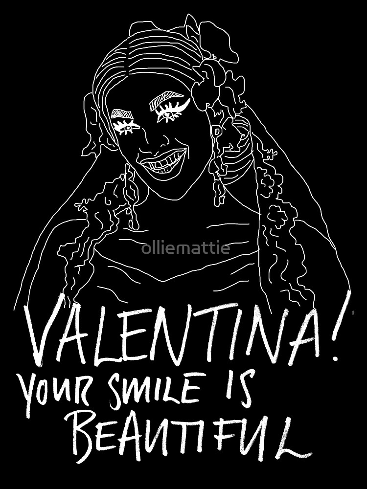 Valentina! Your Smile Is Beautiful! (Inverse) by olliemattie