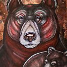 Arcas and Mother Bear by Lynnette Shelley