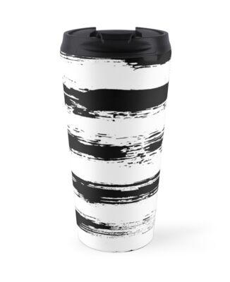 Painted Stripe Pattern Brush Strokes by amovitania