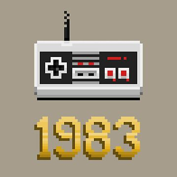 1983 [Pixel Art] by carlostato