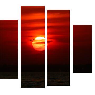 sun set by Haz4281