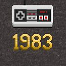 1983 [Pixel Art] by Carlos Tato