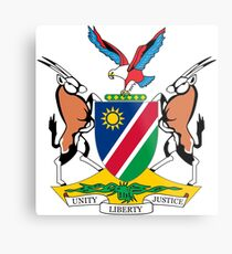 Coat of Arms of Namibia Metal Print