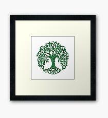 Tree of life Green Framed Print