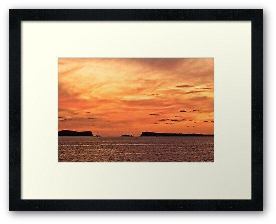 San Antonio Sunset by Tom Gomez