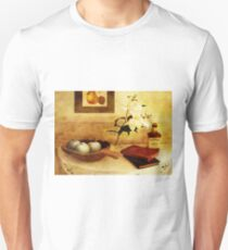 Apples and Pears in a Hallway Unisex T-Shirt