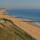 Beach at Southbourne by RedHillDigital