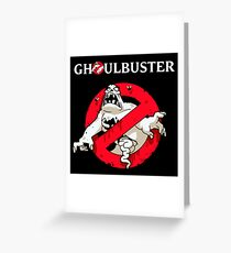 Ghostbusters - Ghoul Greeting Card