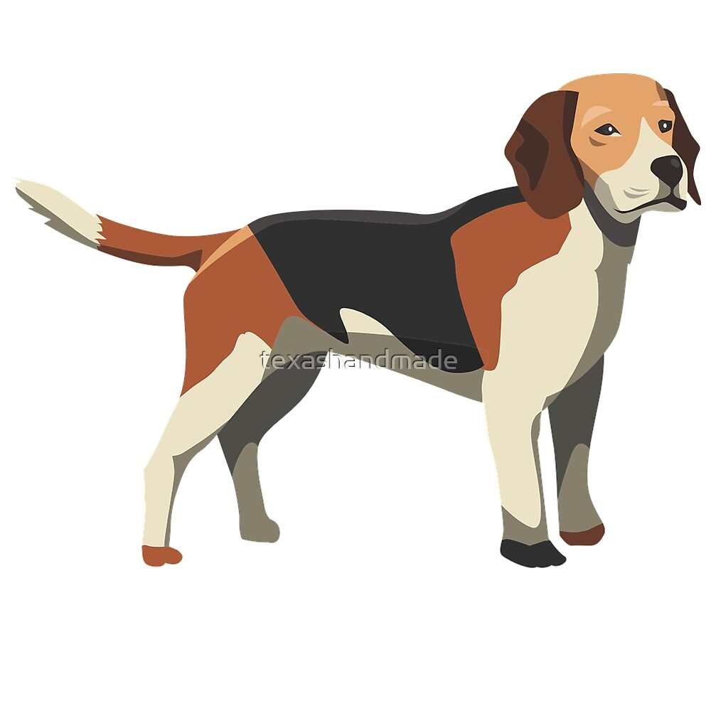 Beagle Dog Lover by texashandmade