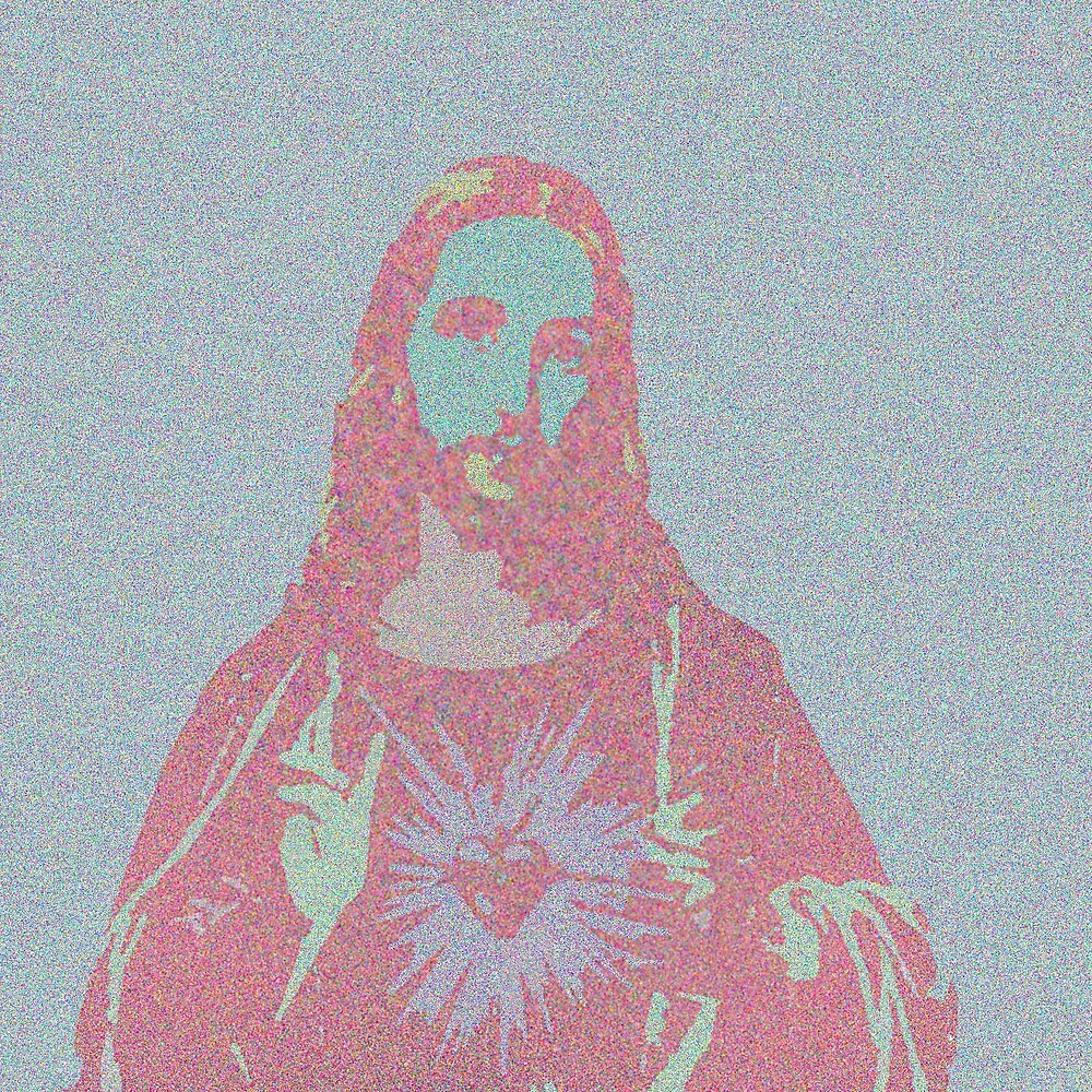 Pastel Jesus by guaronis