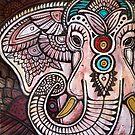 Pink Elephant by Lynnette Shelley