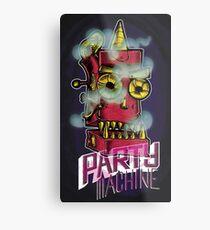 Party Machine Metal Print