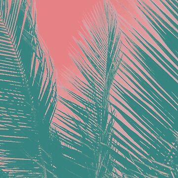 Pink & Aqua Summer by maryhorohoe