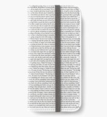Every Lyric from Harry Styles Album iPhone Wallet/Case/Skin