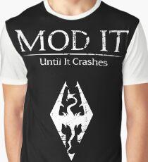 Mod It: Until It Crashes Graphic T-Shirt
