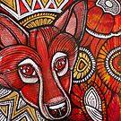 Fox in the Garden by Lynnette Shelley