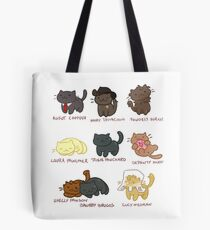Twin Paws Tote Bag