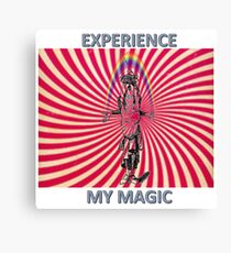 EXPERIENCE MY MAGIC WIZARD Canvas Print