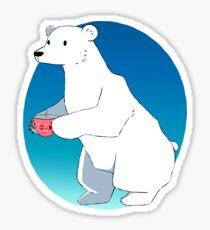 Polar Bear Necessities Sticker