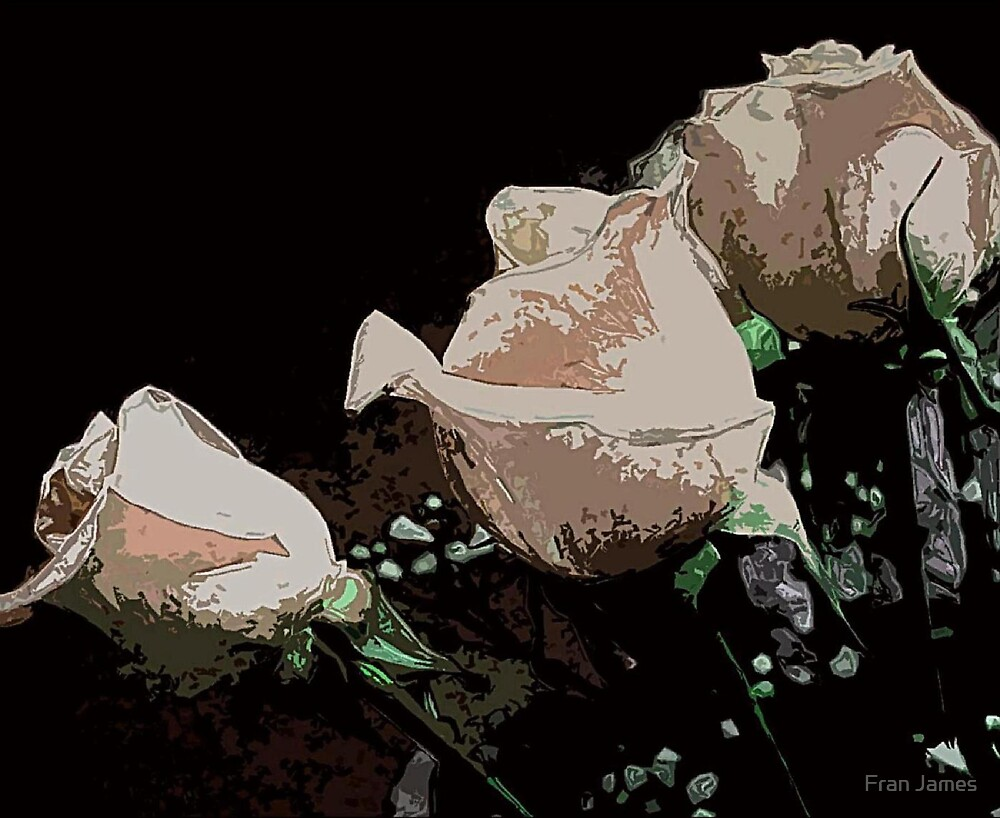 JEWELLED ROSES by Fran James