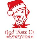 Labrador Christmas for Dog Lovers by texashandmade