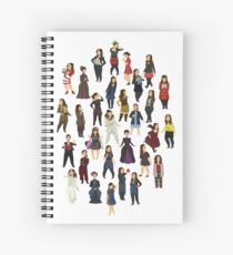 Every Clara Outfit Ever | S7 Spiral Notebook
