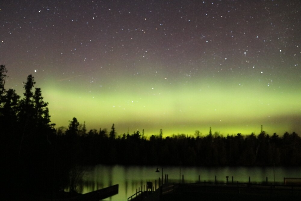 Northern Lights in Michigan by lexie1211